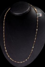 Gargantilha Ouro 18 Com Zirconias