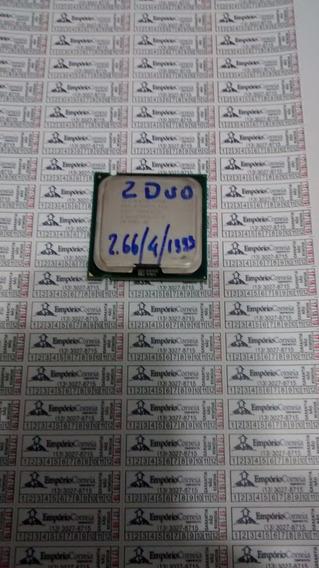 Proc Intel Socket 775 Core2duo 2.66 / 4 / 1333 E6750