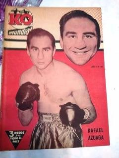 Ko Mundial 182 Rafael Azuaga - Lamina Raul Rodriguez Boxeo