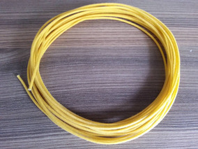 Fio De Pano Yellow Cloth Push Back Correct Single Coductor