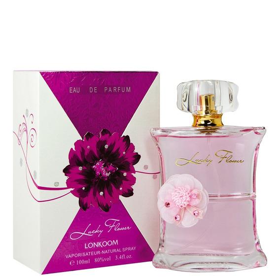Lucky Flower Eau De Parfum Lonkoom - Perfume Feminino 100ml