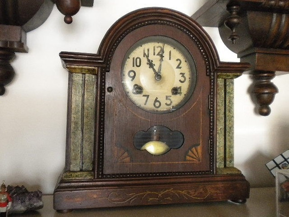 Relógio Antigo Todo Original - Peça De Coleção