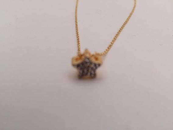 50%+20% Collar Estrella Circonia Accesorios Twist Side