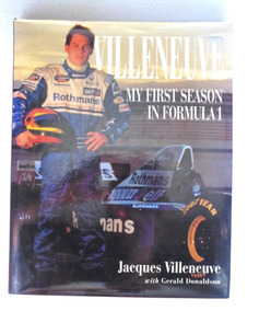 Livro Villeneuve Winning With Style - Formula 1 Jacques F1