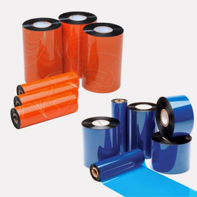 Ribbon Resina 110x74 Impresso Embalagem Etiqueta Uso Externo