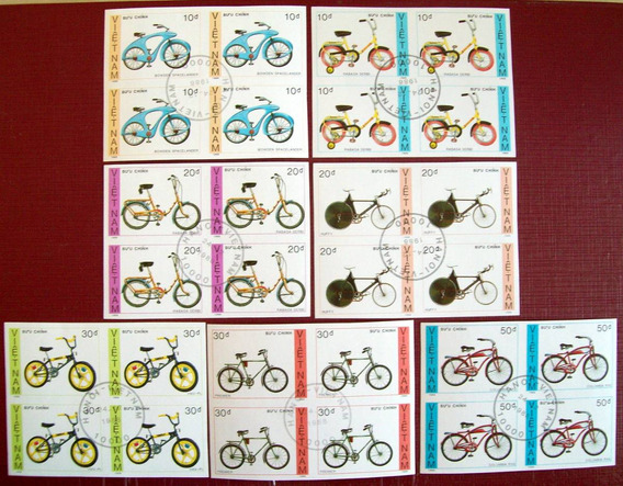 Vietnam Bicicletas Sc 1957-63 Cuadrs Sdentar 88 Usados L6386