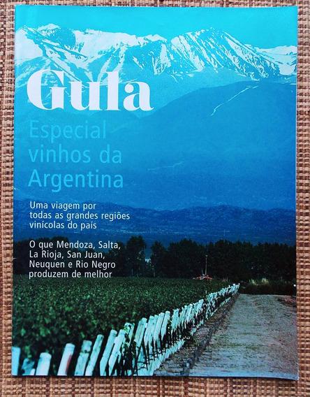 Revistas Gula Vinhos Da Argentina + Ed. 171 Kit C/ 2 Revista
