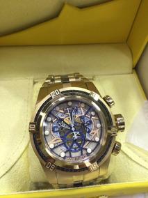 Relógio Invicta Bolt Zeus 13757 Gold Skelecton