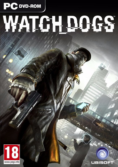 Jogo Mídia Física Watch Dogs Original Computador Pc