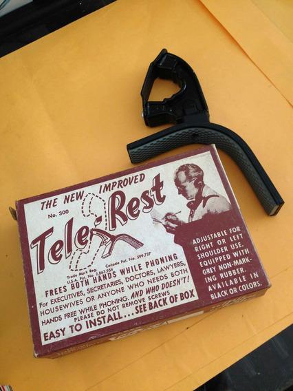 Tele Rest Apoio De Fone De Ouvido Antigo Na Caixa