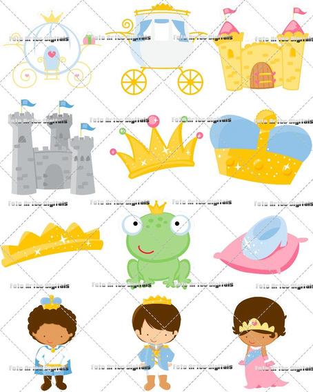 Vetores E Imagens Príncipes E Princesas De Conto De Fadas