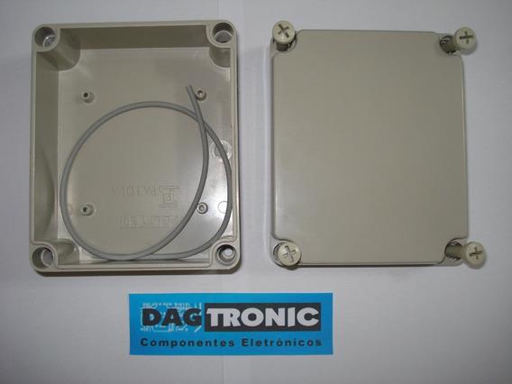 Caixa Plastica Patola Pbl150 Proteção Ip65 100x150mm H60mm