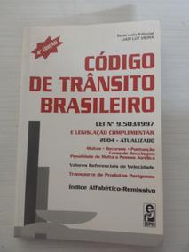 Livro Código De Trânsito Brasileiro - 4ª Edição