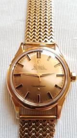 Relógio Omega Constellation Em Ouro Pulseira Em Ouro