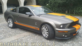 Ford Mustang Shelby Gt500 Coupe 2 Ptas Blindaje Nivel 3
