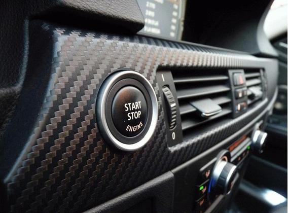 Vinilo Fibra De Carbono 50x50cm Ideal Autos - Motos Tuning
