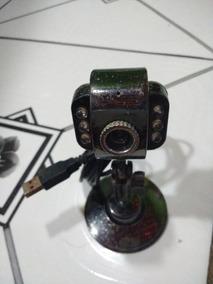6 Led Usb2.0 Hd Webcam Web Cam Video Camera Wit Usado