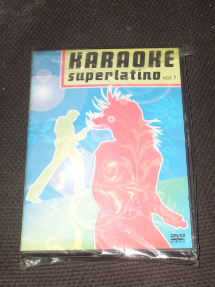 Dvd Karaoke Superlatino Vol 1 Año 2008 Ojala Pudiera Olvidar