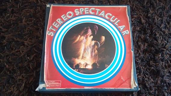Box Antigo Vintage Disco Lp Stereo Spectacular Classic.