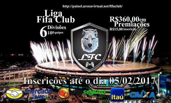 Inscrição Liga Fifa Club Playstation 4 2017/01