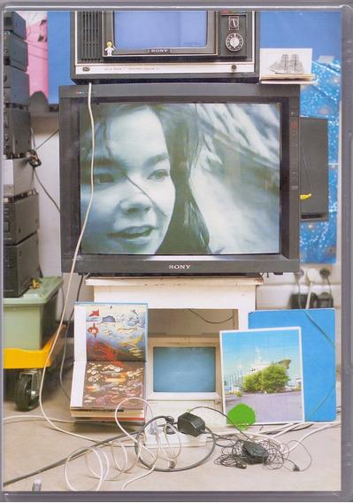 Dvd Björk - Vessel / 1994 - Novo***