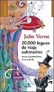 20.000  Leguas  De  Viaje  Submarino  (libro  Infantil)