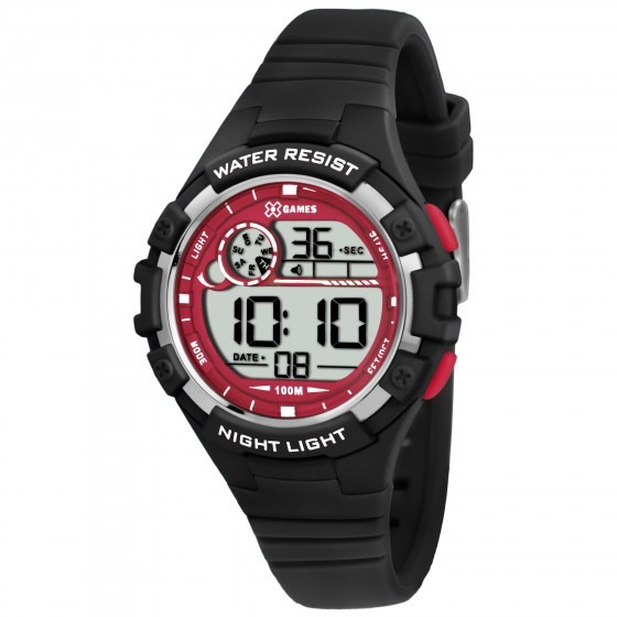 Relógio Xgames Xkppd011 Bxpx Unissex Masc Preto - Refinado