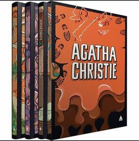 Livro Box Coleção Agatha Christie - Caixa 3 - Capa Dura Luxo