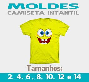 Molde Camiseta Infantis - (envio Por Email) Pdf E Cdr