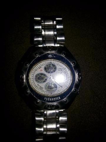 Relógio Citizen Oval Wr100 Promaster Original