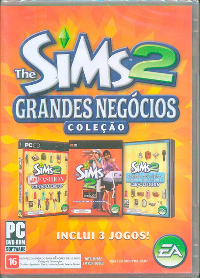 Game Pacote Expansão The Sims 2 Coleção Grandes Negócios