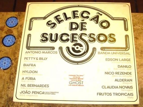 Lp Seleção Sucessos (1991) C/ Antonio Marcos Biafra Hyldon