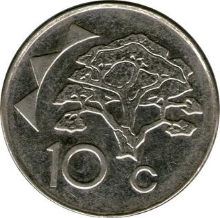Spg Namibia 10 Cents 2012 Acacia