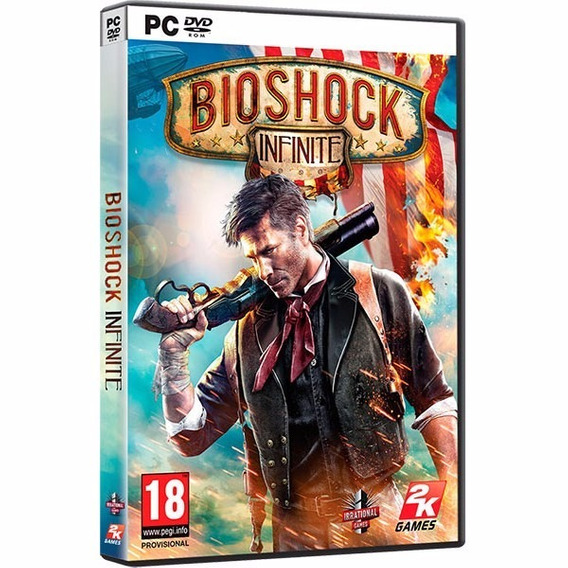 Bioshock Infinite Game Of The Year Edition Dvd Pc Frete 8 R$