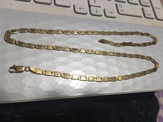 Corrente Malha Piastrini Ouro 750 18k