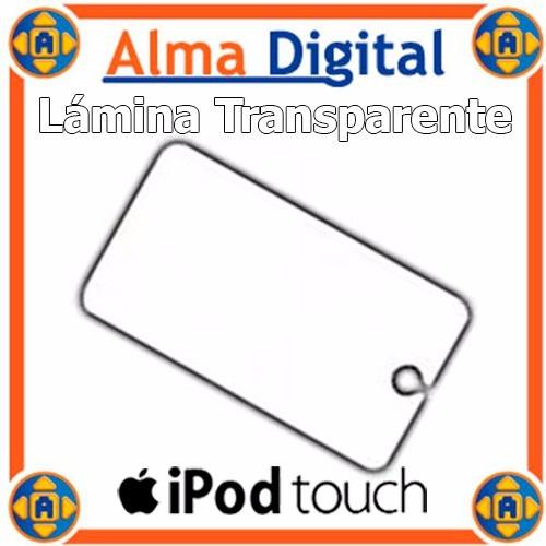 Lamina Transparente Protector Pantalla iPod Touch 1g