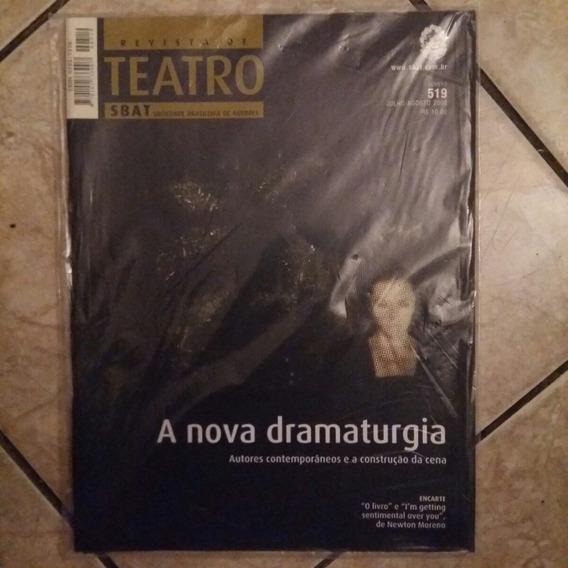 Revista De Teatro Sbat No. 519 A Nova Dramaturgia C/encarte