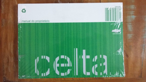 Manual Proprietario Celta 2008 2009 Novo Original Em Branco