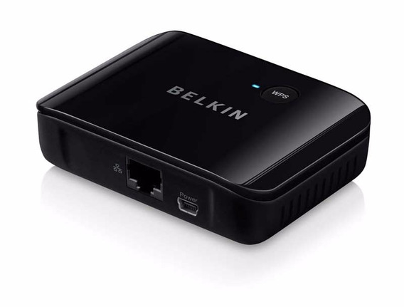 Adaptador Wireless Belkin Universal Hdtv Adapter, Novo