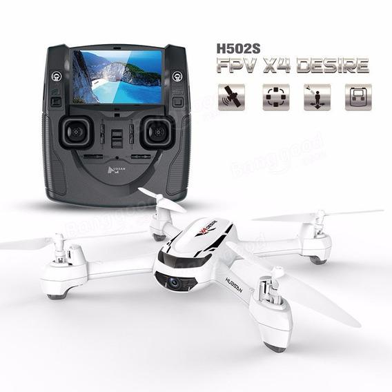 Drone Hubsan X4 H502s Fpv Gps Hd + Kit Antena+ 1 Bat Extra