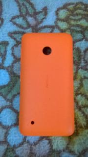 Traseira Nokia Lumia 530 Laranja