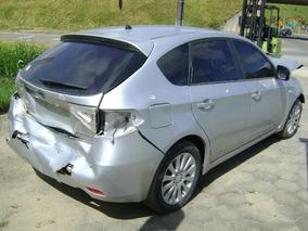 Sucata Subaru Impreza 2.0 Symmetrical Awd 2010 Vendo Peças