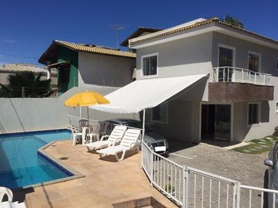 Casa Em Condomínio Residencial Em Lauro De Freitas - Ba, Praia De Ipitanga - Ca01332