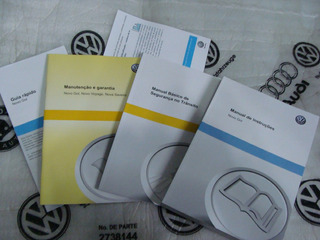 Kit Completo Manual Proprietário Gol G6 - Vw Novo Lacrado !