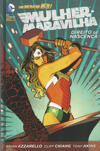 Mulher-maravilha Direito De Nascenca 01 - Bonellihq Cx65 F19