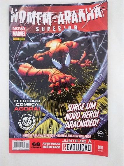 Hq Homem-aranha Supe Nº 1 Edição De Colecionador Nova Marvel