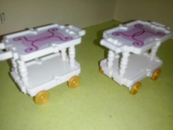 Playmobil Carritos De Servicio Victorianos De Cocina Js