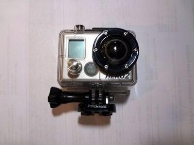 Camera Hero Go2 Com Cartao E Acessorios.