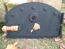 Puertas Para Hornos De Barro Con Termometro 7´´mm De Espesor