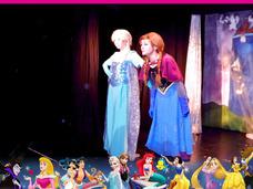 Show Animación Frozen Ó Rapunzel Maléfica Sofia Cenicienta